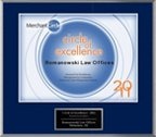 Circle of Excellence 2011 Plaque