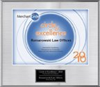 Circle of Excellence 2010 Plaque